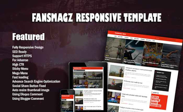 Fansmag blogger template