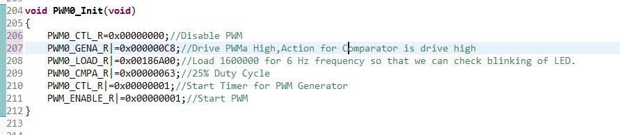 LED BLINKING C CODE ARM 32 BIT (TIVA C SERIES TM4C123G
