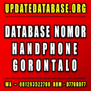 Jual Database Nomor Handphone Gorontalo