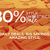 Why are you waiting for Black Friday Zando runs 80% off The Style Unrestricted Sale