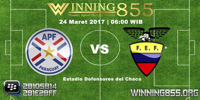 Prediksi Skor Paraguay vs Ecuador 24 Maret 2017