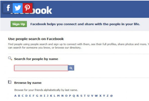 Facebook Profile Search Without Login