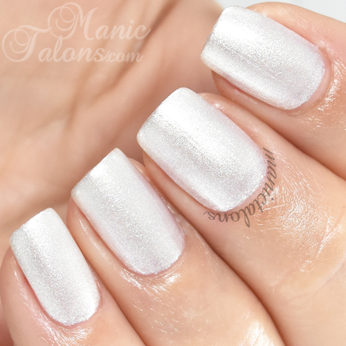 Madam Glam Gel Polish Quick Silver Swatch