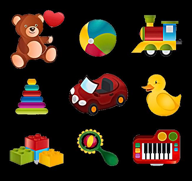 маленькие картинки игрушек для печати зашла