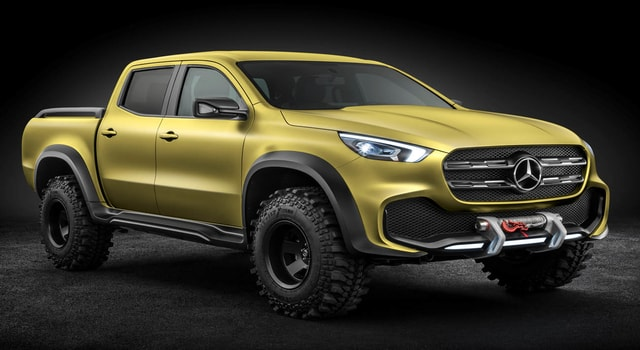 Mercedes X Class 2017 - Luxury Pickup