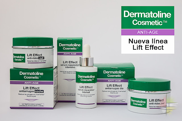 Nueva gama Anti-Age Lift Effect de Dermatoline Cosmetic