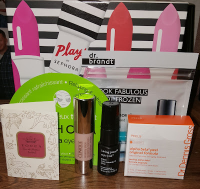 Play! By Sephora December 2015 & January 2016