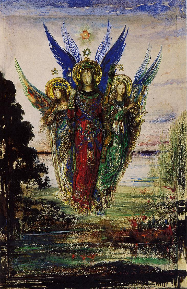 The Woman Gallery: Gustave Moreau (1826-1898)