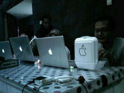 Apple Mac Trucha (Humor)