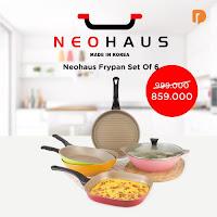Dusdusan Neohaus Frypan Set (Set of 6) ANDHIMIND