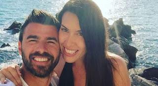 Andrea Barzagli e Maddalena Nullo