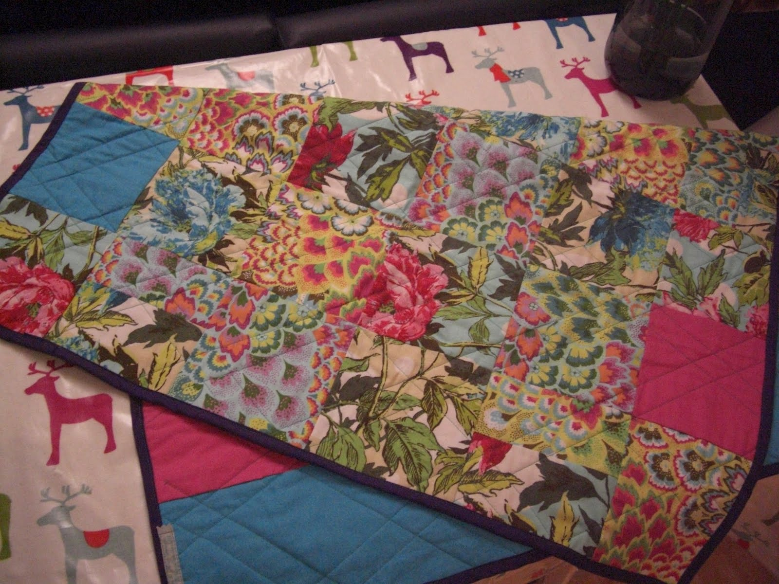 Ripped Up Amp Resewn Christmas Gifts 3 Quilted Patchwork