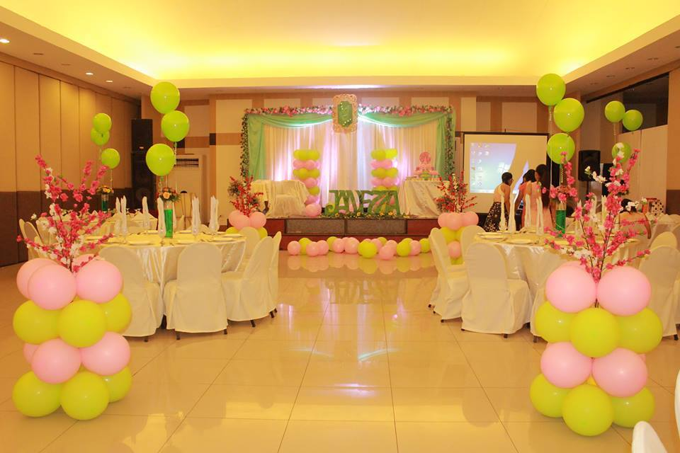 Janezza's Cherry Blossom and Floral Themed Debut Party