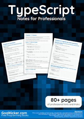 type script pdf book notes download for free