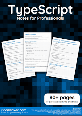 Type Script PDF Book Notes | Free Download
