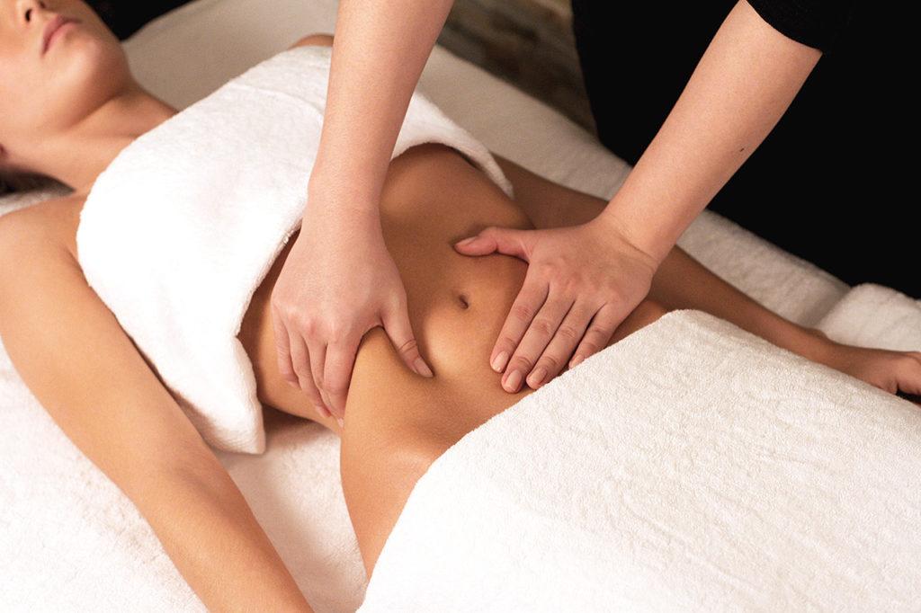 Техника дренажного массажа для похудения