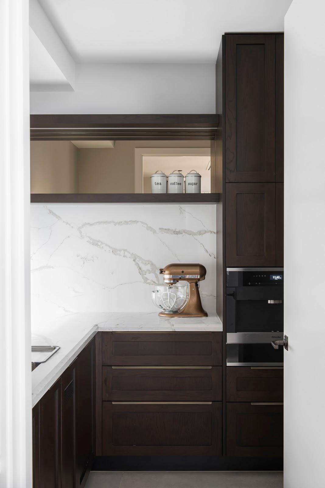Minosa classic modern kitchen design for Kitchen design brief example