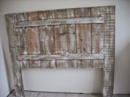 Lit table commode en bois de palette recycler des for Meuble accent st jean sur richelieu