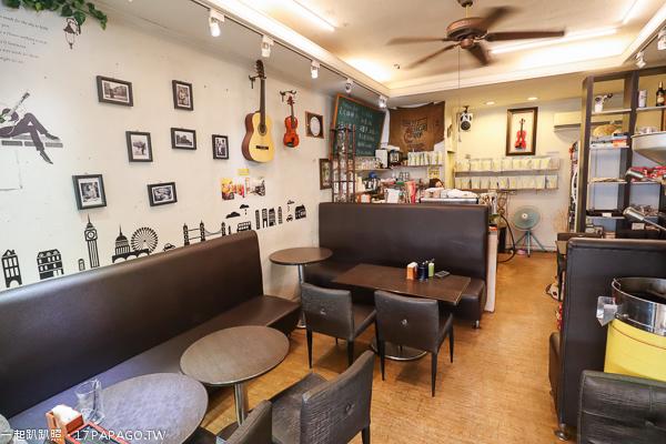 《台中.西屯》D.MA大瑪咖啡|大瑪素食|原巴締咖啡|平價咖啡美食|環境舒適