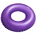 Almofada d'água redonda c/orifício