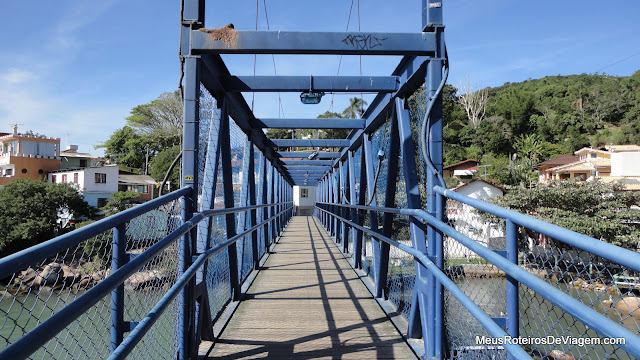 Ponte sobre o canal da Barra da Lagoa - Floripa