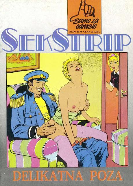 Delikatna poza - Seks Strip