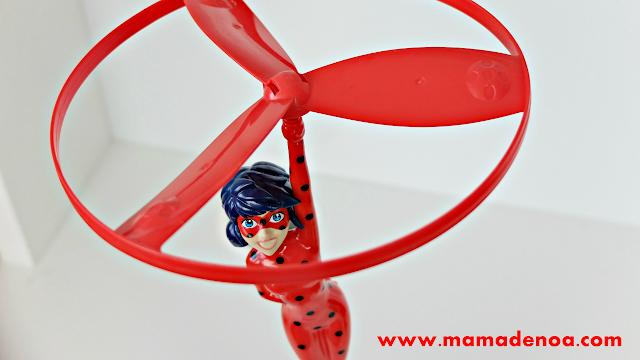 ladybug voladora de bandai - juguetes prodigiosa ladybug - miraculous ladybug