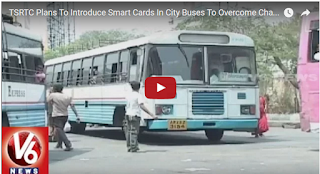TSRTC Plans To Introduce Smart Cards In City Buses To Overcome Change Problems | Hyderabad