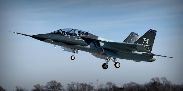 Image Attribute: Boeing's T-X Test Flight of Prototype 1 in December 2016 / Source: Boeing