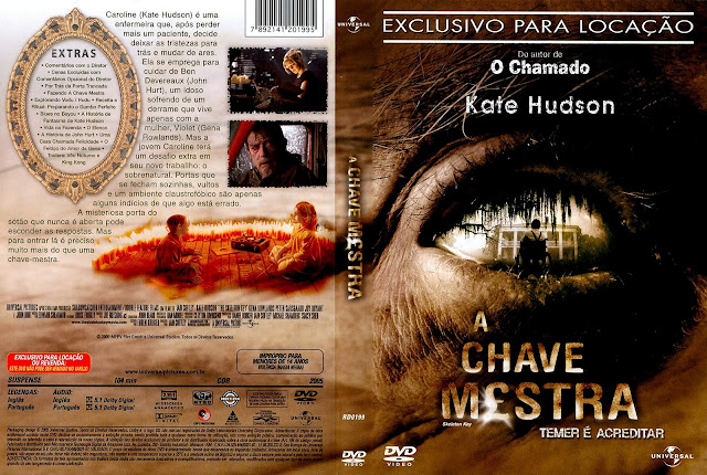 Capa DVD A Chave Mestra