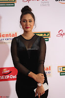Vennela in Transparent Black Skin Tight Backless Stunning Dress at Mirchi Music Awards South 2017 ~  Exclusive Celebrities Galleries 025.JPG