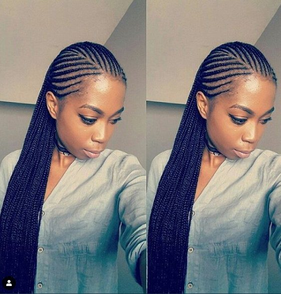there are many of most popular Cornrows braid hairstyles it ✘ 24+ Unique Cornrow Hairstyles For African American Women