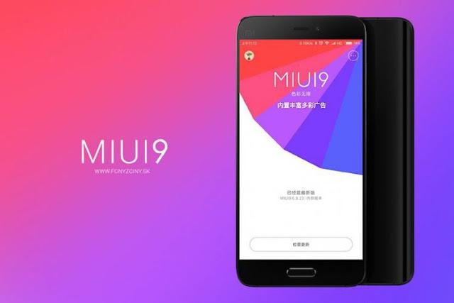 Daftar Smartphone Xiaomi Lawas yang kebagian Pembaruan MIUI 9