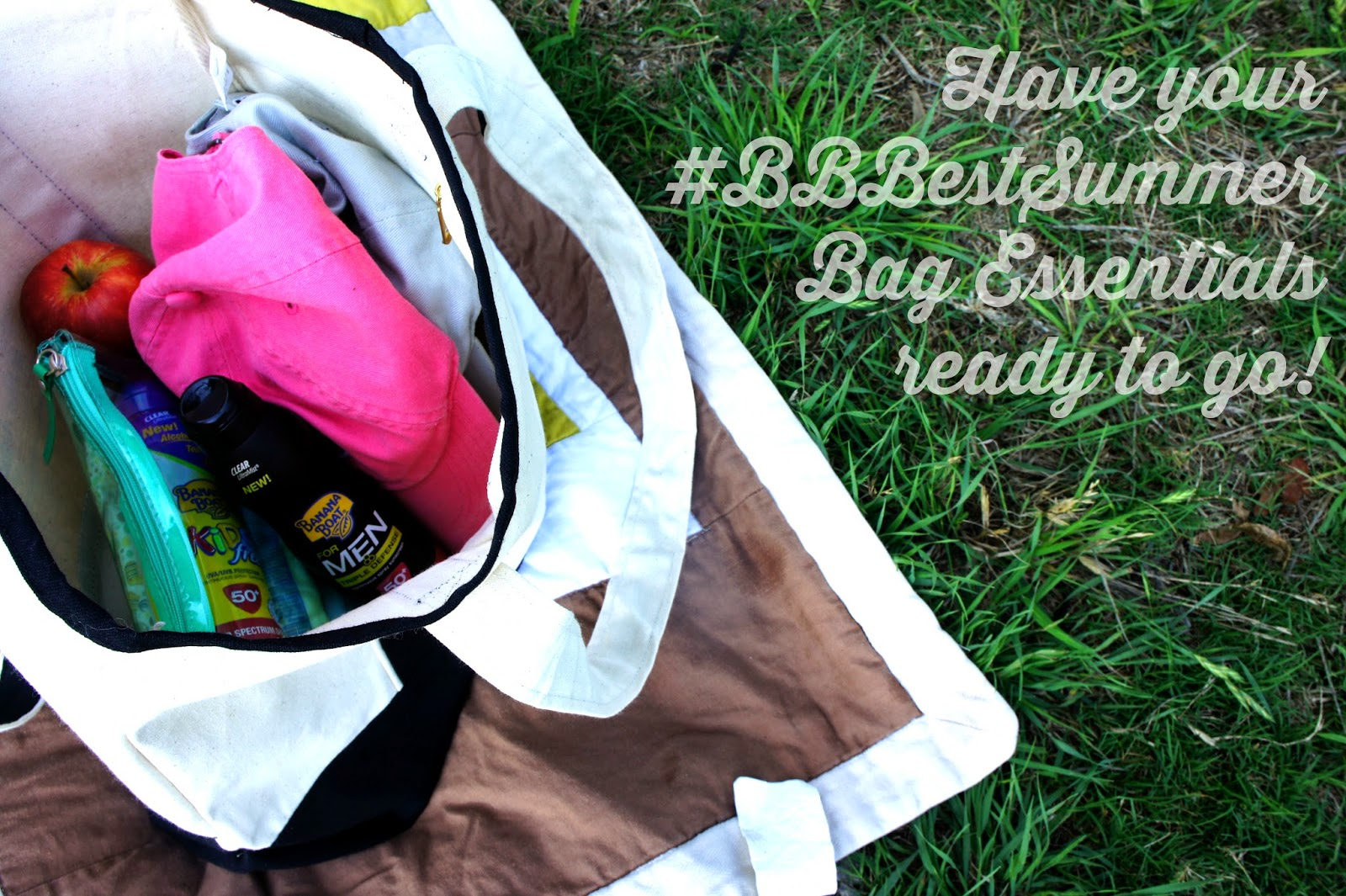 Banana Boat Summer Bag Essentials for Active Families