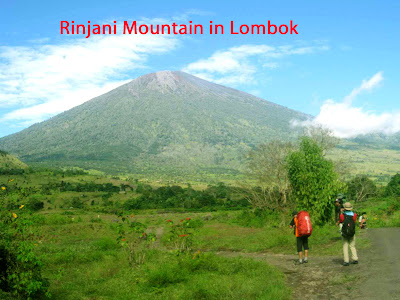 Rinjani Mountain in Lombok