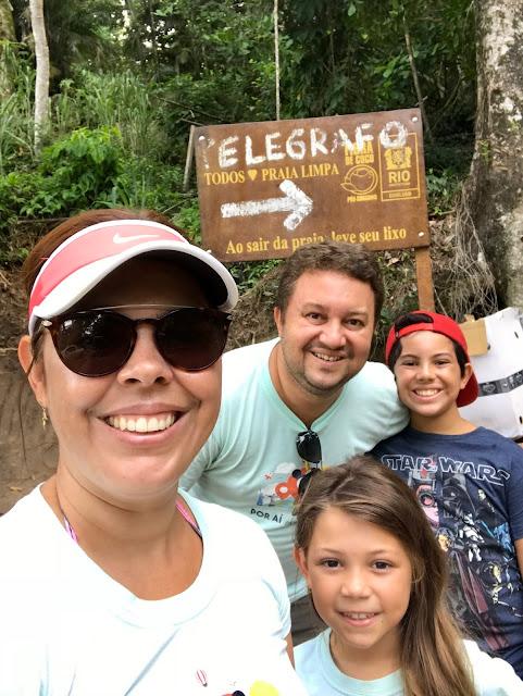 Pedra do Telégrafo - Barra de Guaratiba, uma opção de passeio maravilhosa