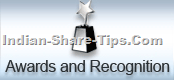 Best share market tips provider award in India