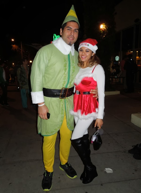 Buddy Elf West Hollywood Carnaval 2013