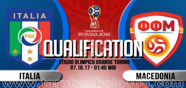 Prediksi Taruhan Bola 365 - Italia vs Makedonia 7 Oktober 2017