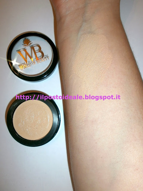World of Beauty Mineral Pro Total corrector beige