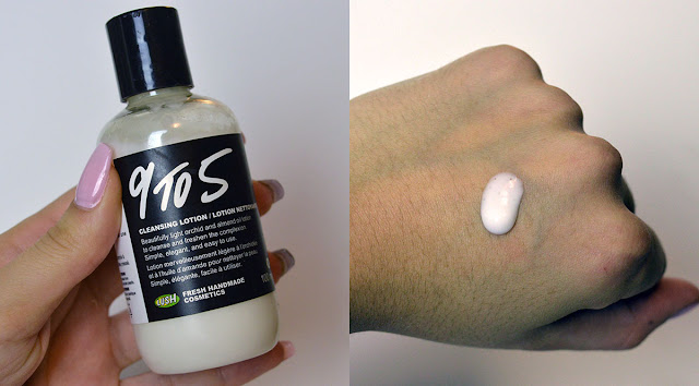 9 to 5 cleansing lotion lush favourites