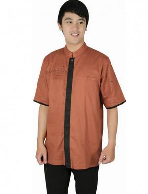 Contoh model baju koko muslim pria modern