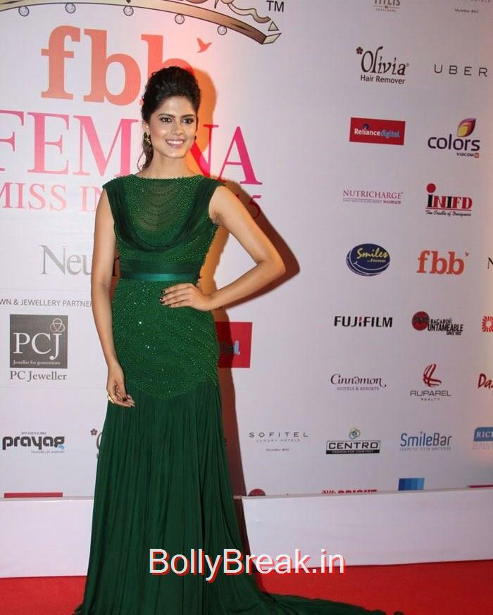 Ruhi Singh, Grand Finale of Femina Miss India 2015 Photo Gallery
