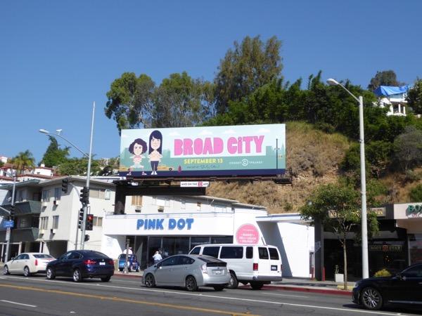 Broad City season 4 billboard