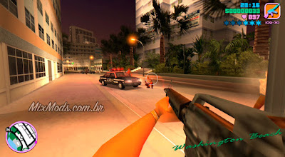 gta vc vice city fps mod first person primeira pessoa
