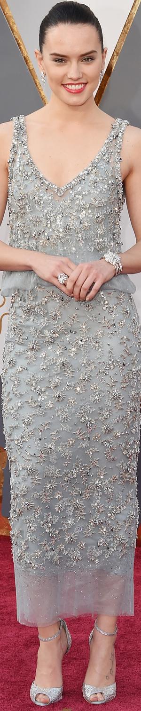 Daisy Ridley 2016 Oscars