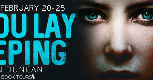 'As You Lay Sleeping' Review Blog Tour & Giveaway!