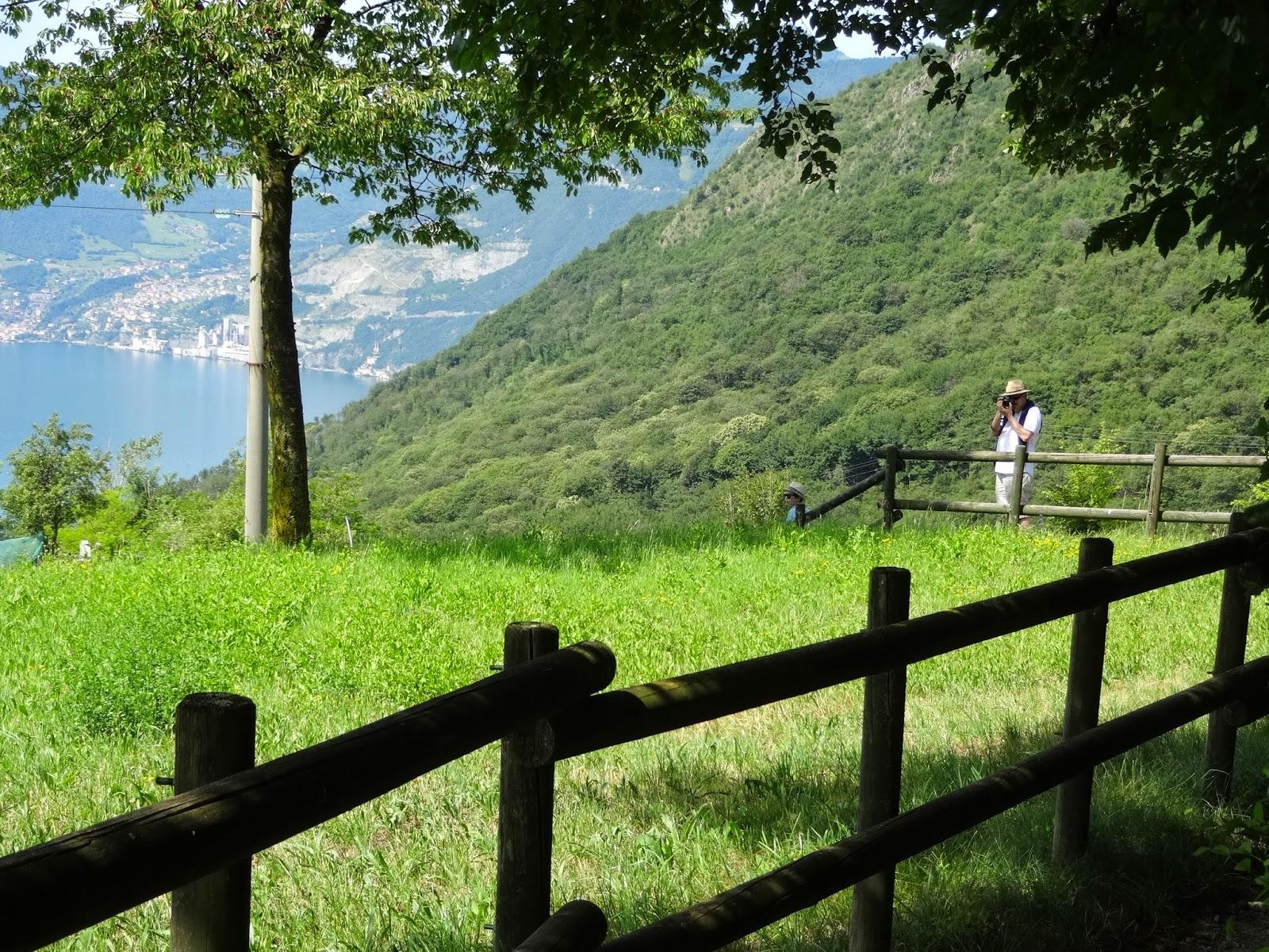 путешествие по горам в италии