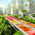 Autoestrada tem vários transportes públicos, muitas zonas verdes e até faixa exclusivas para drones