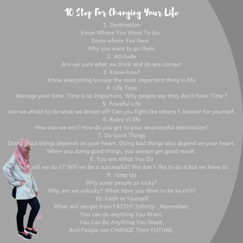 10 Step For Charging Your Life